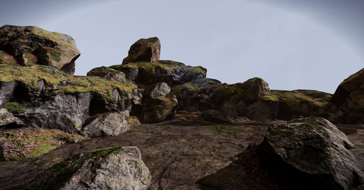 Poor-mans Ethan Carter Environment[Bitsquid] - Polycount Forum
