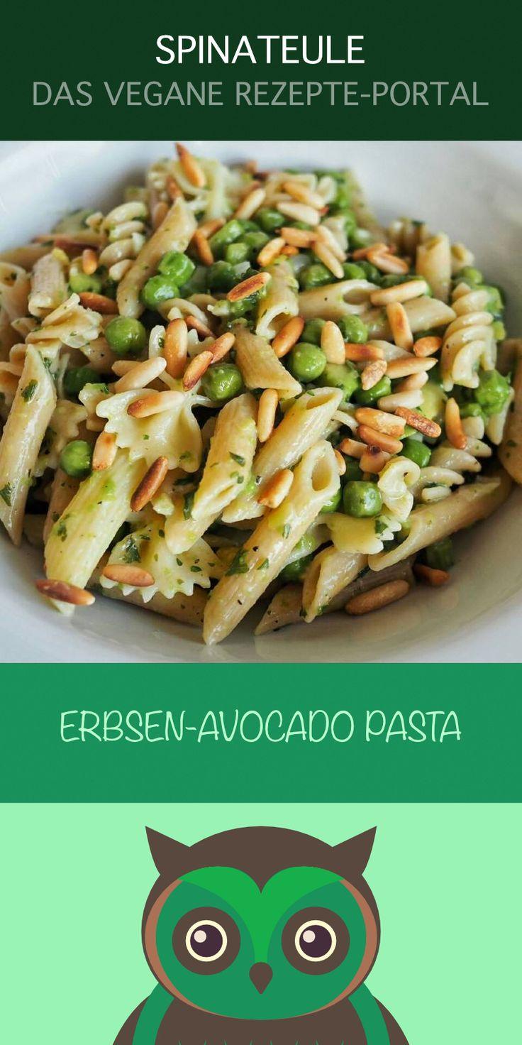Erbsen meets Avocado - Ein geniales Pastarezept