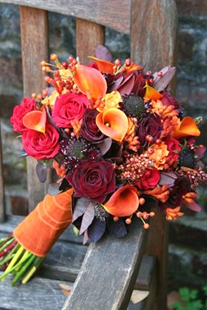 Best 25 fall wedding bouquets ideas on pinterest fall wedding 30 prettiest small wedding bouquets to have and to hold junglespirit Images