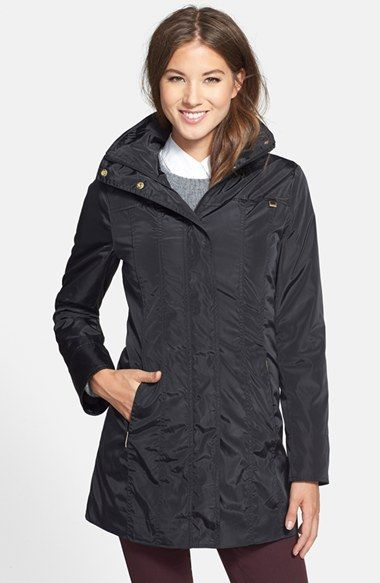 Ellen Tracy Packable Iridescent Raincoat (Online Only) available at #Nordstrom