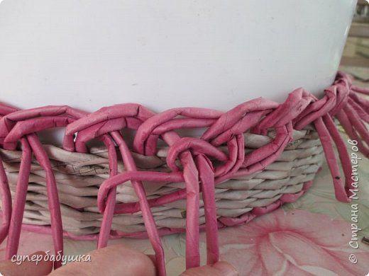 Мастер-класс Поделка изделие Плетение Мои новые загибки Трубочки бумажные фото 29