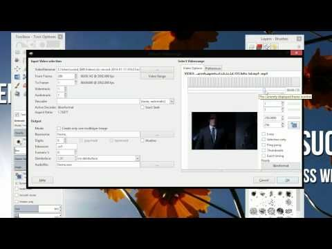how to make animated gif in gimp from images