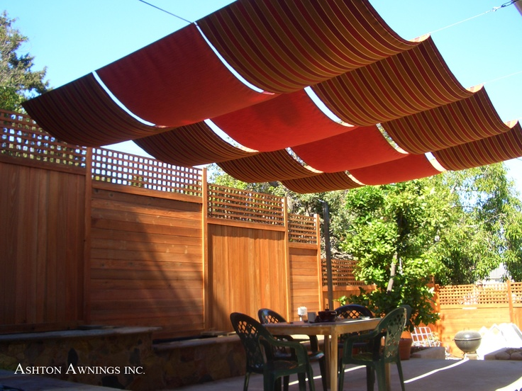 Pinterest DIY Outdoor Canopy