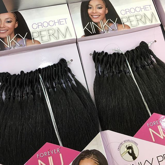 Let's get STRAIGHT to the point! We now have the FOREVER NU Kinky Perm CROCHET line from @bobbiboss_hair In-Stores and Online! This hair gives a great coarse, kinky texture that blend very well with blowed out or natural textured hair! This is the BEST straight crochet option available cause it's PRELOOPED!  YOU NEED this hair and it's available now at all 5 locations and online now at www.shopbeautydepot.com FOR JUST $6.99 per pack, ALL COLORS.  We recommend 6-8 packs for a full head…