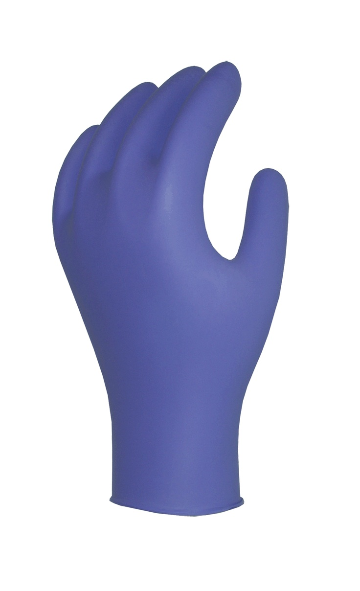 Nitrile Examination Gloves. FDA Approved and CE Certified, only available with V-CARE IMPEX in India.  For more info. on this visit www.vcareimpex.com or call us on 9920107524