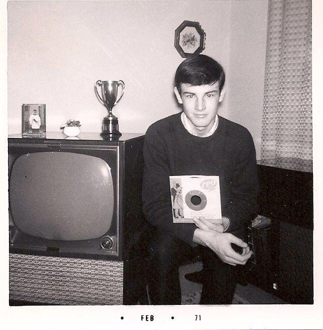 ...very young Burton Cummings....