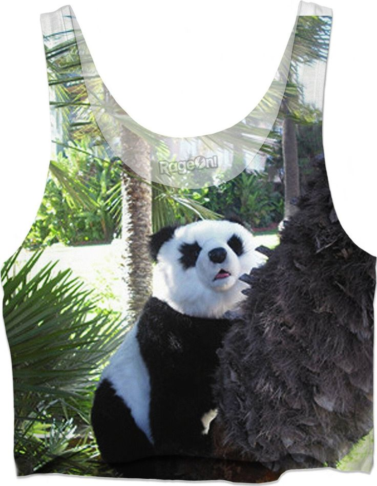 "Custom Crop Top ""Darling Panda"". You cannot but love this cute Panda! It also proves that you care for this conservation reliant vulnerable species!   Darling Panda, Panda, China, Panda bear, Giant Panda, T-Shirt, Sweatshirt, Duvet cover, shower curtain, couch pillow, Hoodie, Yoga Pants, Handy, Joggers, Leggings, Phone Case, Beach Towel, Tank Top, Crop Top, pillow, swim shorts, underwear, Onesie, fleece blanket, dress, Bandana, souvenir, holiday, gift, love, present, novelty, World, apparel,"