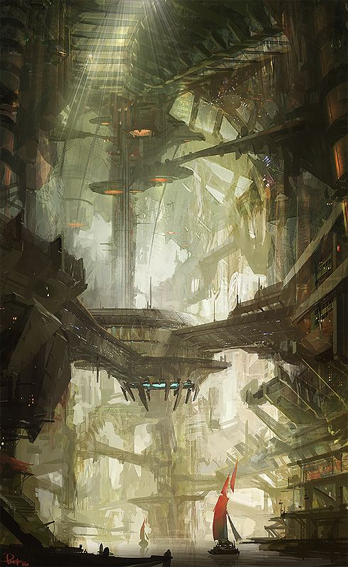 Network System, James Paick is a Korean concept artist known for his environment design. Concept Art Bonetech3D SteamPunk Fashion Sci-Fi