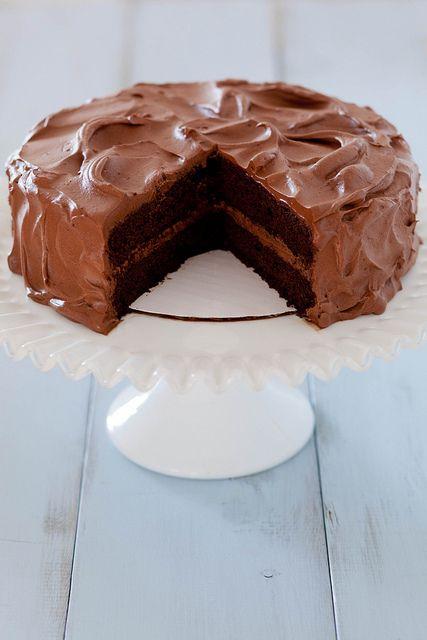classic chocolate cake
