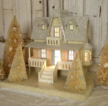 Beach Cottage Christmas' i'm in love with this!