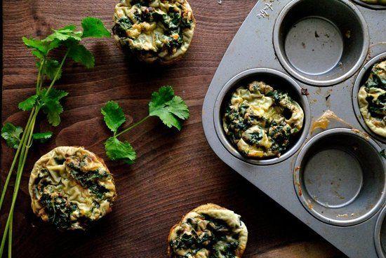 Kale egg cups - super healthy: Breakfast Eggs, Eggs White, Mini Quiches, Eggs Muffins, Green Eggs, Gluten Free, Kale Eggs, Muffins Recipe, Gluten Fre Green