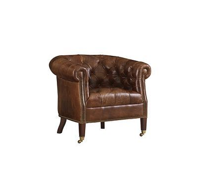 CHAIR from the Henredon Leather Company collection by Henredon Furniture