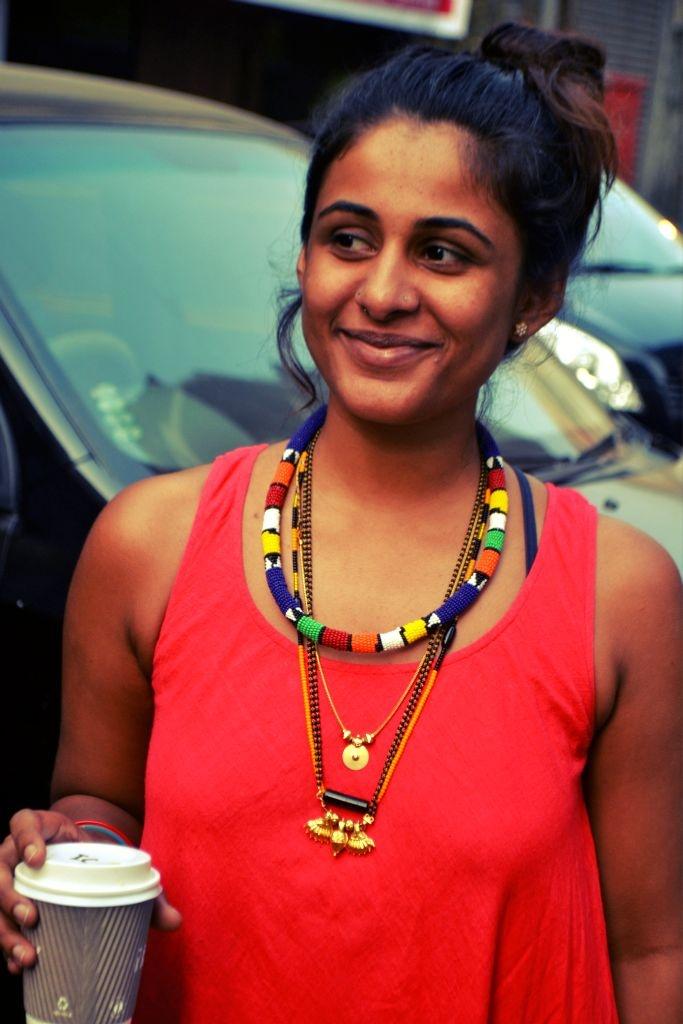 The Mangalsutra Re-invented #StreetStyleIndia #HippieFashion #BohemianLove