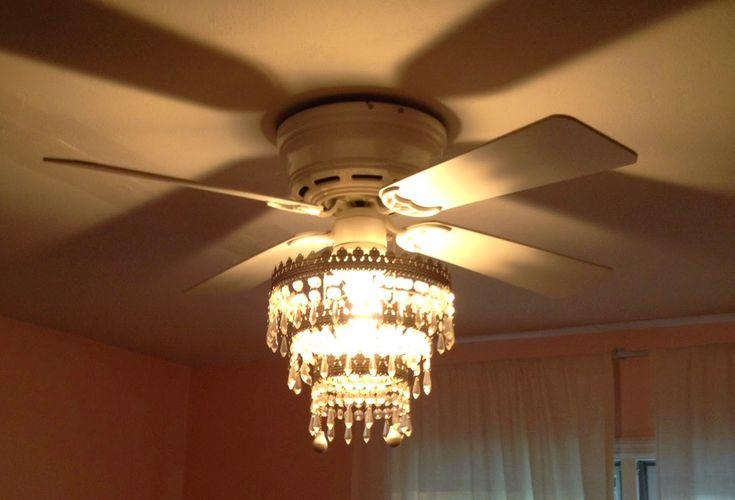 How to make a chandelier fan.