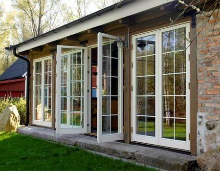 Utgående parfönster - Osbydörren
