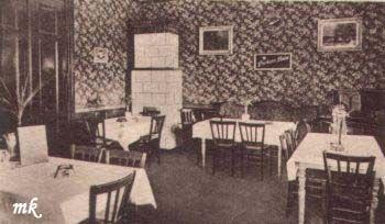 Poczekalnia 1 dla pasażerów 2 klasy. 1929r.