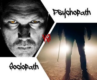 Can You Tell a Psychopath from a Sociopath? :   Are you uncertain of the distinctions between a sociopath and a psychopath? If so you are not alone. Many psychiatrists forensic psychologists criminologists and police officers incorrectly use the terms sociopathy and psychopathy interchangeably.  Leading experts disagree on whether there are meaningful differences between the two conditions. Those who agree that there are differences often disagree on what those differences are. I contend that there are clear and significant distinctions between psychopathy and sociopathy and I discuss them below.  The fifth edition of the Diagnostic and Statistical Manual of Mental Disorders (DSM-5) released by the American Psychiatric Association in 2013 lists both sociopathy and psychopathy under the heading of Antisocial Personality Disorders (ASPD). These disorders share many common behavioral traits which lead to the confusion between them. Key traits that sociopaths and psychopaths share include:  - A disregard for laws and social mores - A disregard for the rights of others - A failure to feel remorse or guilt - A tendency to display violent or aggressive behavior  In addition to their commonalities sociopaths and psychopaths also have their own unique behavioral characteristics and origins.   Sociopaths tend to be nervous and easily agitated. They are volatile and prone to emotional outbursts including fits of rage. They are more likely than are psychopaths to be uneducated and live on the fringes of society. They are sometimes unable to hold down a steady job or stay in one place for very long. It is often difficult but not entirely impossible for sociopaths to form attachments with others.  Many sociopaths are able to form an attachment to a particular individual or group although they have no regard for society or its rules in general. Therefore the meaningful attachments of any sociopath will be few in number and limited in scope. As a rule they will struggle with relati