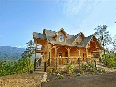 35 best gatlinburg homes images on pinterest cabin rentals
