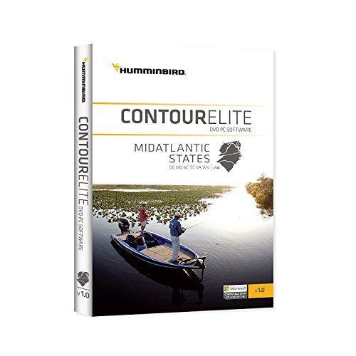 Humminbird Lakemaster Mid Atlantic States Contour Elite Map Software, Black - http://bassfishingmaniacs.com/?product=humminbird-lakemaster-mid-atlantic-states-contour-elite-map-software-black