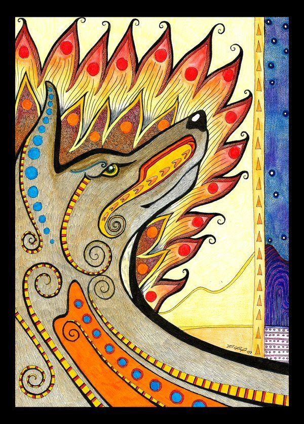 Coyote Totem by Ravenari