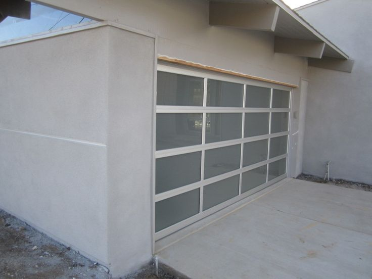Mid Century Modern Garage Doors With Windows 31 best garage door images on pinterest | glass garage door