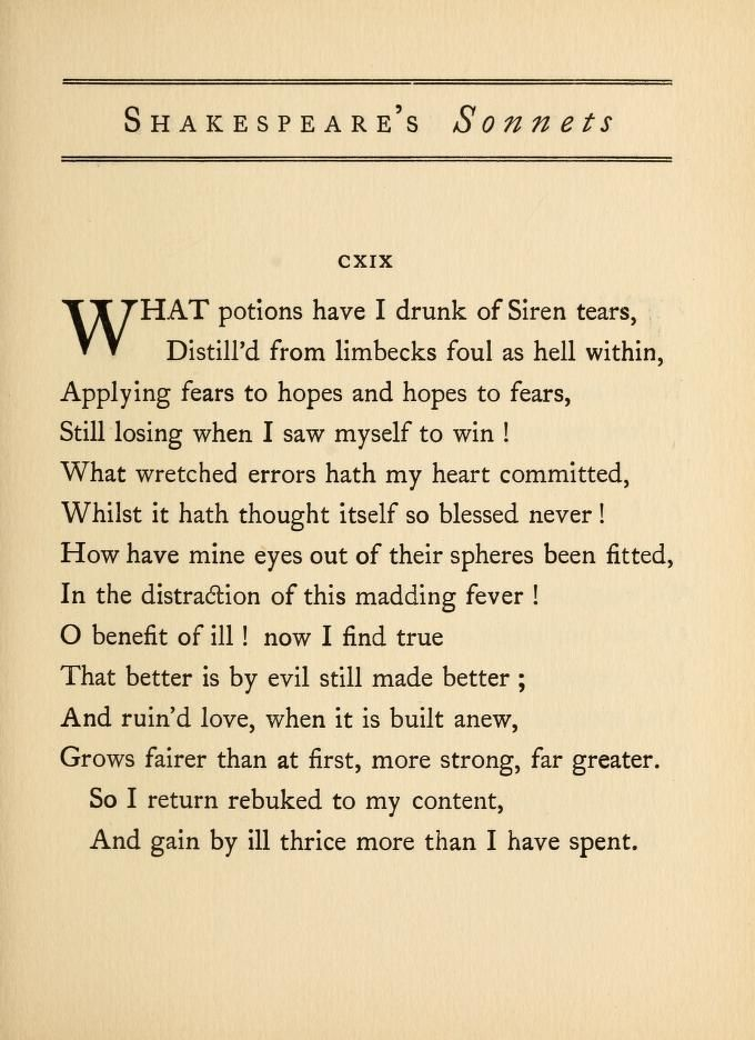 Shakespeare S Sonnets Shakespeare William 1564 1616 Free Download Borrow And Streaming Internet Archiv Shakespeare Sonnets Sonnets Shakespeare Quotes