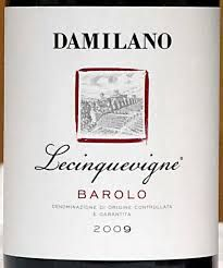 Damilano Lecinquevigne - another one of my wedding wines, this was inhaled before I got much myself.  Oh, the risks of sharing.
