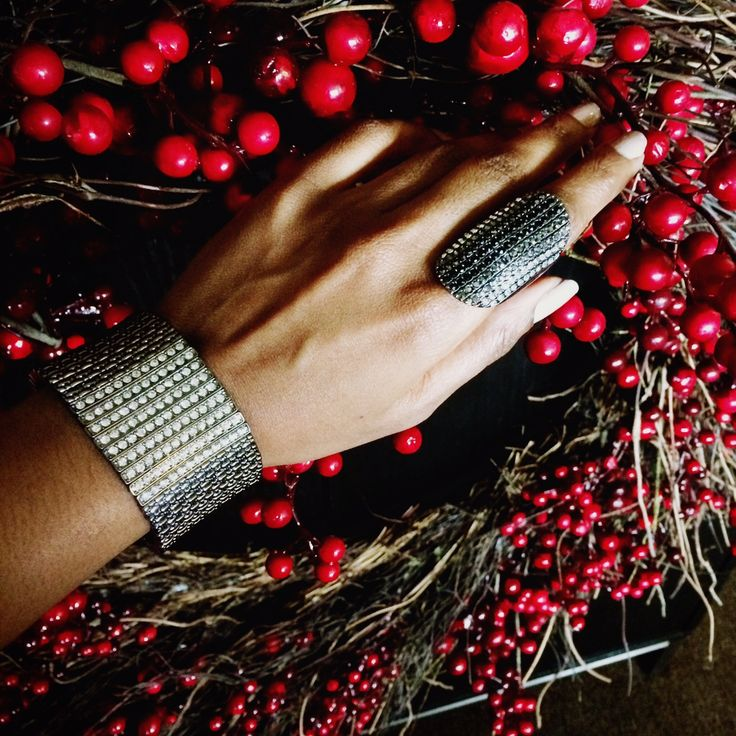 It's an arm party & you're invited! Rocking the new mark. holiday jewelry http://MEABEL.avonrepresentative.com  #AvonRep #AvonJewelry #AvonMark