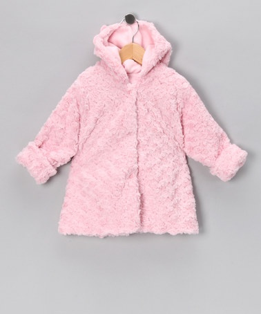 Pink Twist Swing Coat