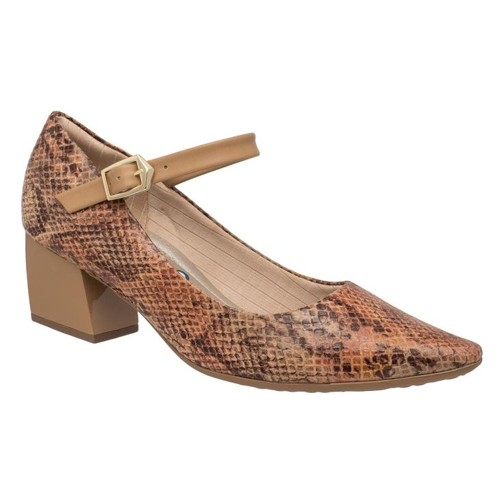 Sapato Mary Jane Salto Médio - Piccadilly - Loja Piccadilly