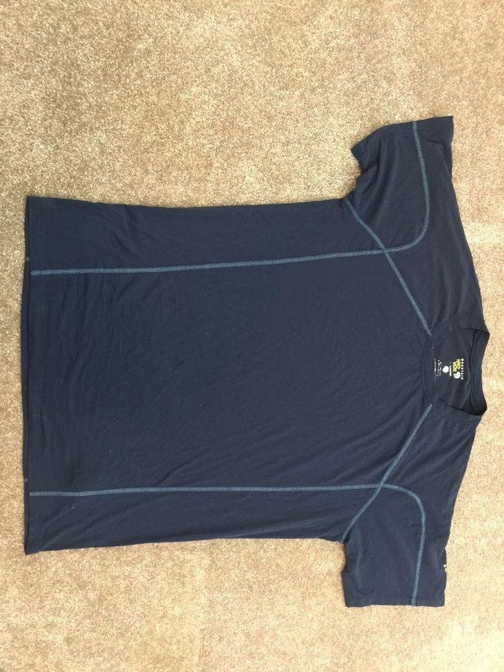 Mountain Hard Wear Blue Short Sleeve Shirt Men's Sz L*  | eBay