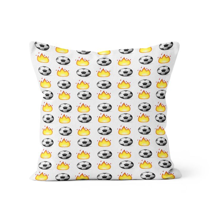 Soccer Emoji Pillow