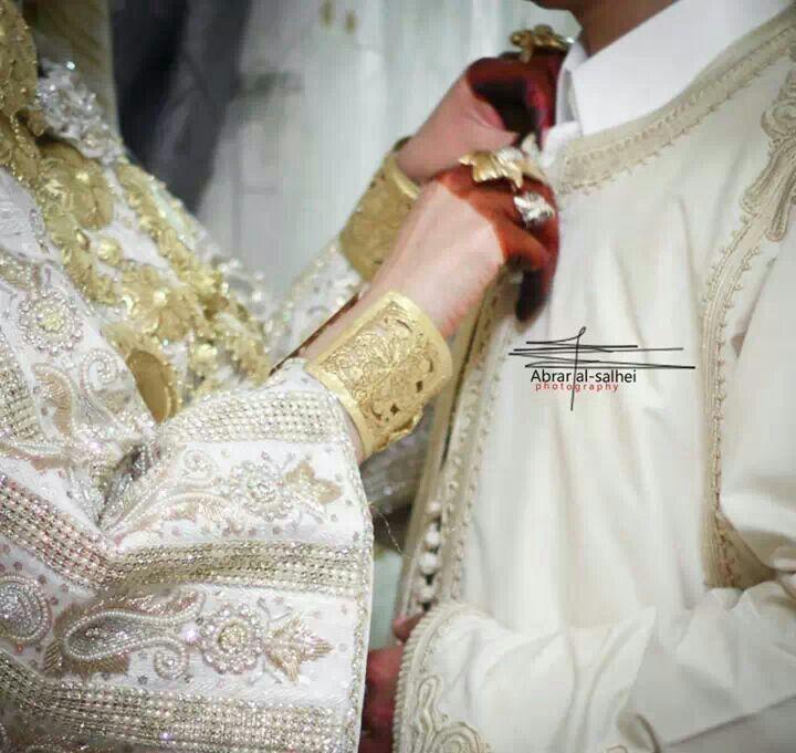 A  Libyan Bride and Groom