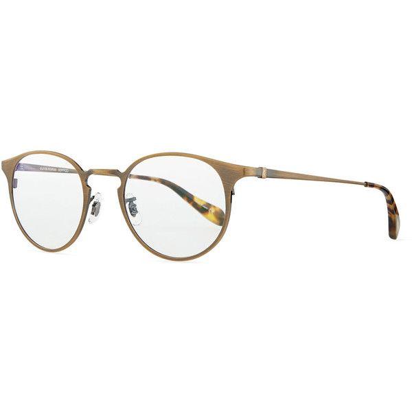 Men s Round Gold Frame Glasses : Top 25+ best Round Eyeglasses ideas on Pinterest Vintage ...
