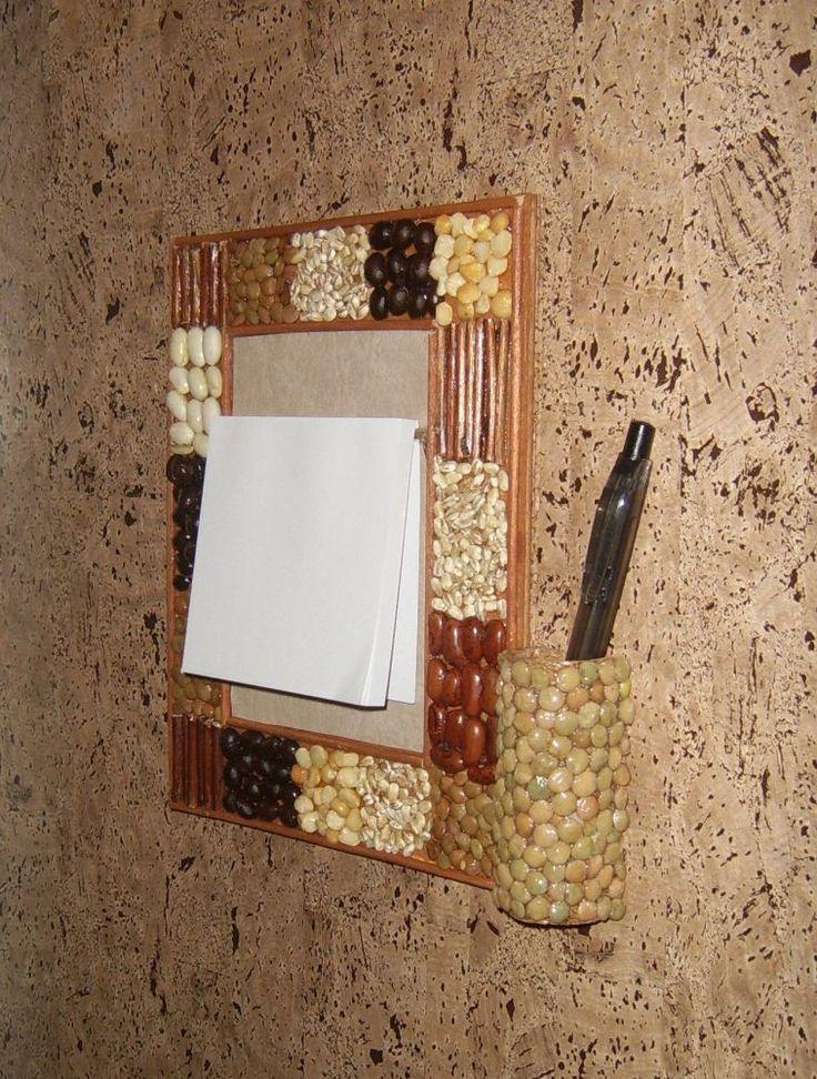 Fali jegyzetelő tábla. Készítsd magad. Clipboard wall. Diy.