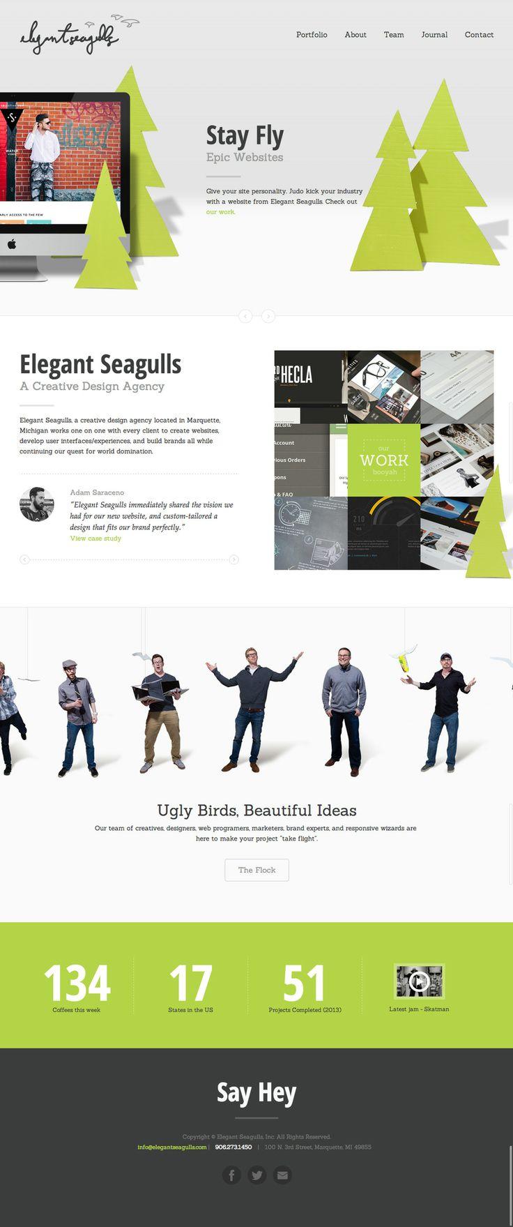 Elegant Seagulls – Creative Agency