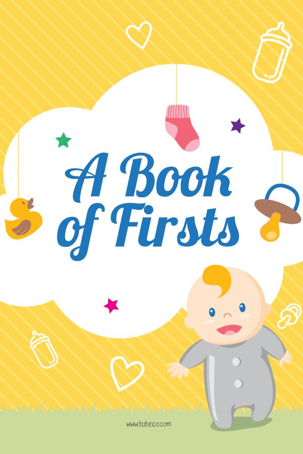 Memories of Baby's First Year You Won't Want to Forget! Celebrate all of your baby's special moments & milestones by using this free baby memory photo book you can treasure for years to come from #BubziCo | #BabyMemoryBook #BabyMilestones