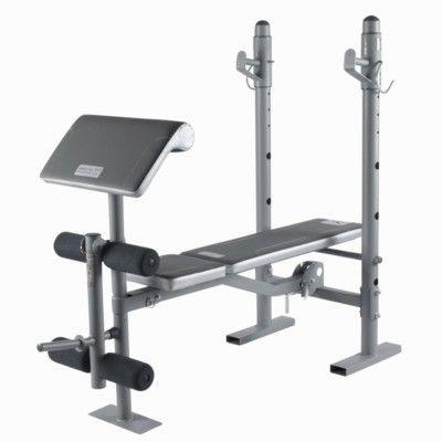 Fitness_muscu Fitness - Banc de musculation BM 210 DOMYOS - Musculation, Tonification
