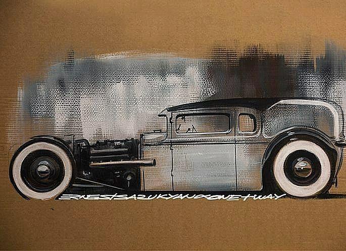@Regrann from @ernest.tsarukyan  -  Art for sale #HotRod #RatRod #Fun #Artwork #Art #Custom #BallPen #Sketch #Sketchbook #Lowered #roddersjournal #ХотРод #Hotwheels #Crazy #loweredlifestyle #GSRA #Germersheim #Fast #Furious #FastandFurious #V8 #chopped #Rusty #Rust #Riot #USA #usacars #хотьродь