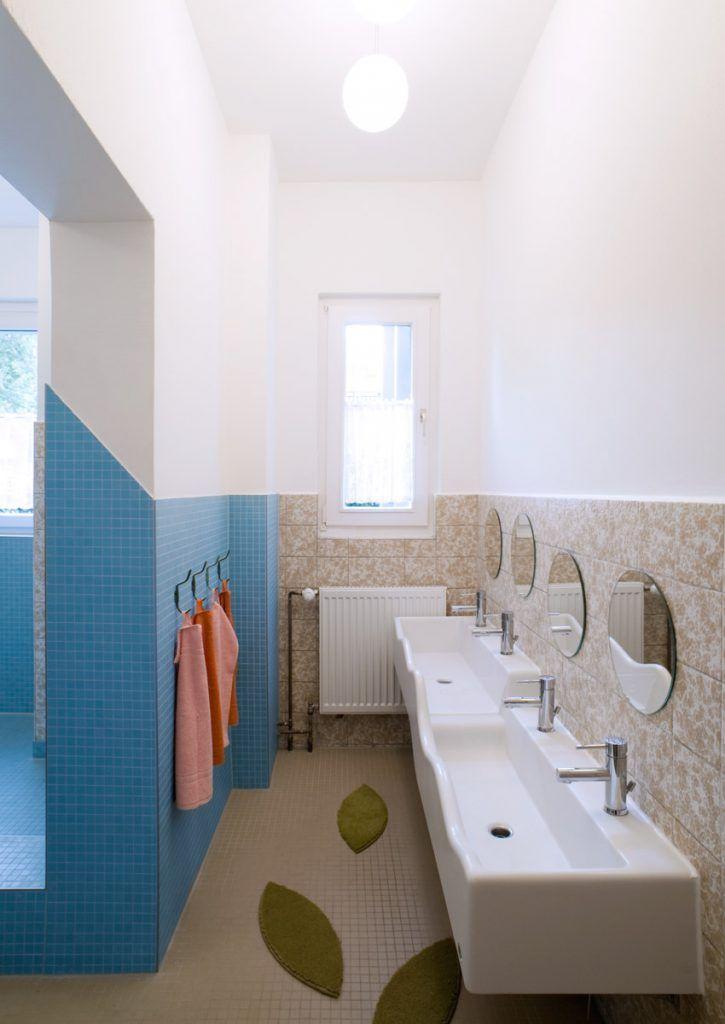Kita Spreesprotten Kinderbetreuung Toilette Design