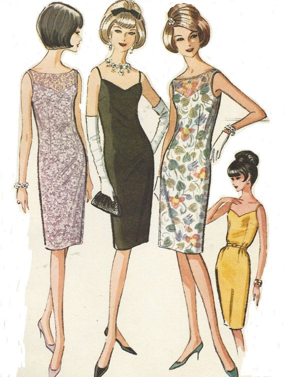 1247 best 1960s Sewing Patterns images on Pinterest | 1960s ...