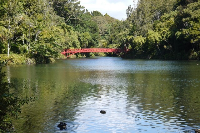 New Plymouth's Pukekura Park.