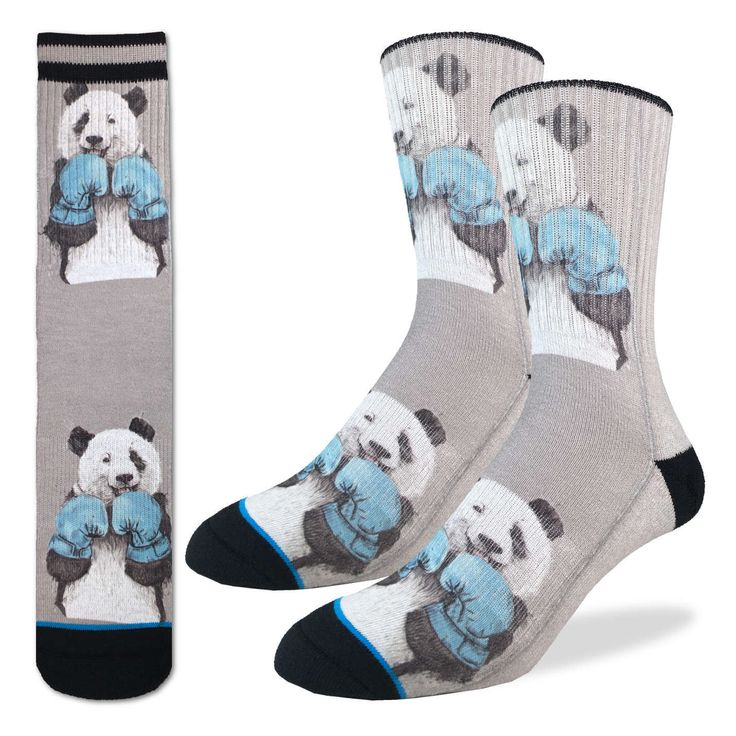 Boxing Pandas Socks