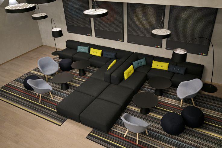 NorgesGruppen Data. Corporate office designed by Metropolis arkitektur & design. www.metropolis.no