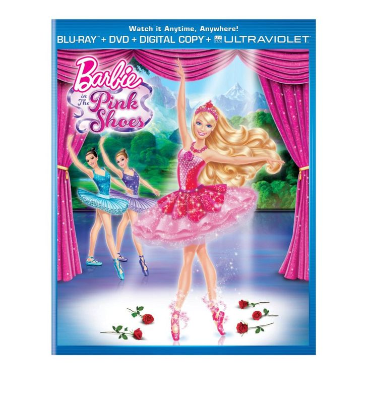 Barbie In The Pink Shoes Bliray DVD Digital Ultra