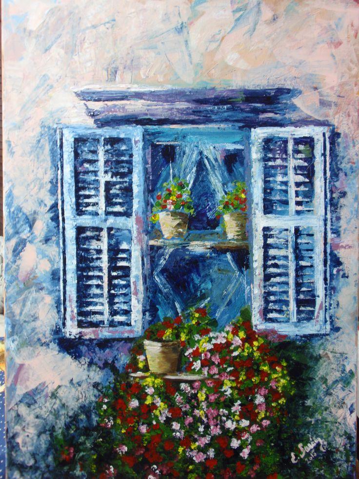 Old window, by Eberika