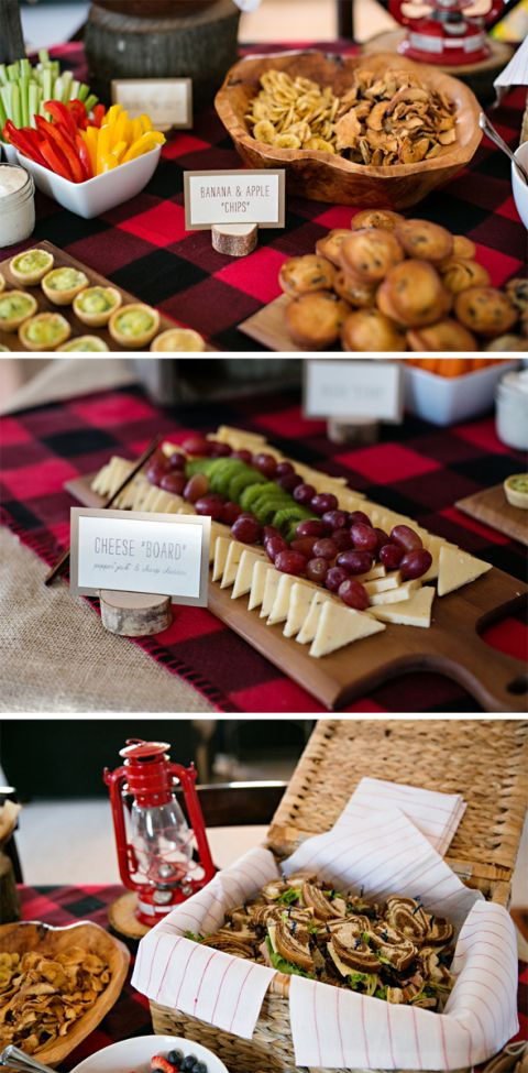 Little Lumberjack 1st Birthday Party Ideas - Pretty My Party