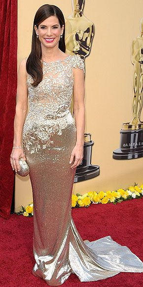 Sandra Bullock: Classy Women, Gorgeous Gowns, Celebrity Lady, Evening Gowns, Bullock Celebritiesilik, Sandra Bullock Oscars 2010, The Dresses, Red Carpets Dresses, Lemon Bar