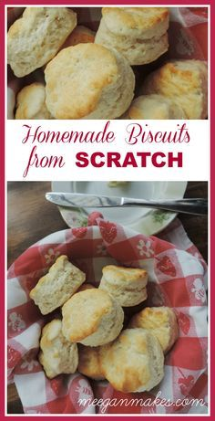 How To Make Homemade Biscuits From Scratch is easy with a few ingredients and a few tips. Your family will want them for every meal. Especially breakfast.