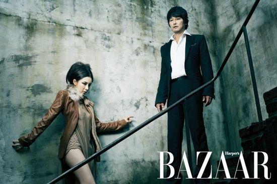 Song Kang Ho and Shin Se Kyung